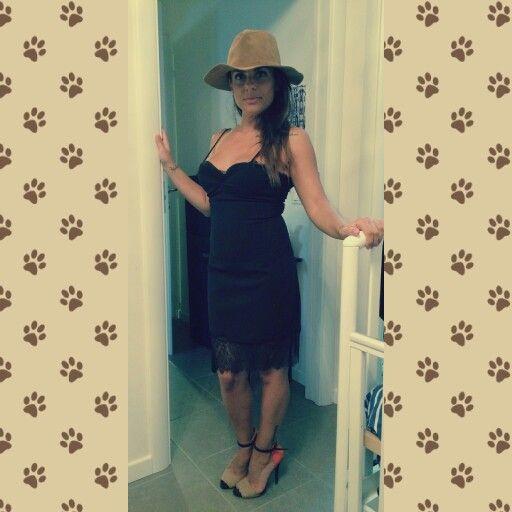 #pizzo#black#scarpe#look