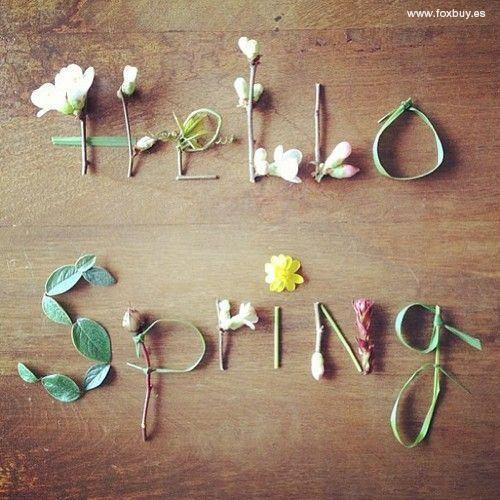 "Foxbuy a Twitteren: ""Empieza la primavera!! #GoodbyeWinter #HelloSpring http://t.co/bHYCL3me9G"""