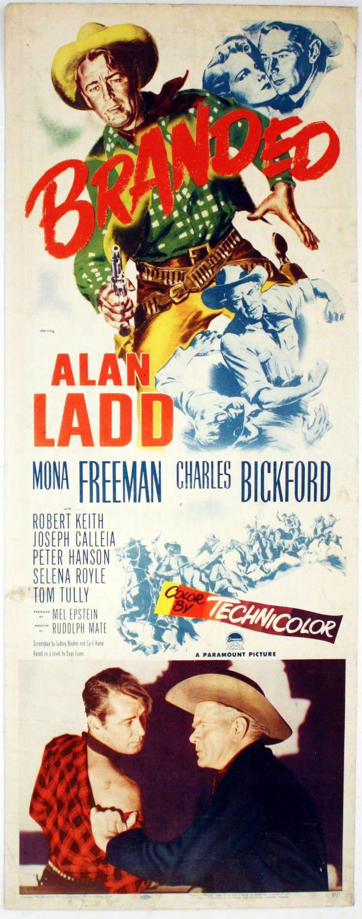 Branded 1949 alan ladd mona freeman charles bickford robert keith