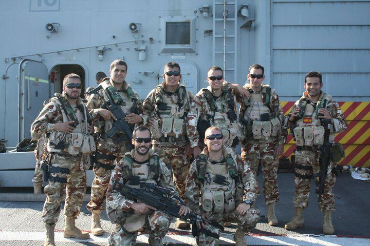 Spanish Marine Corps Recon Unit. (Crossbow, ICE)