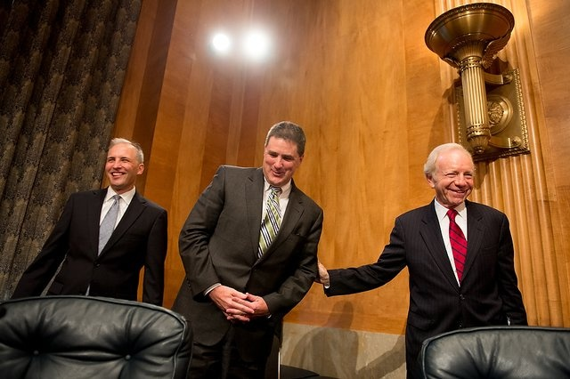 Senate Committee Hypes Iranian Quds Force Threat to America  Matthew G. Olsen (L) tells the Senate the Iranians are coming.
