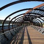 Photos of The Shops at Dos Lagos - Corona, CA - pedestrian bridge - I would LOVE to walk this someday!