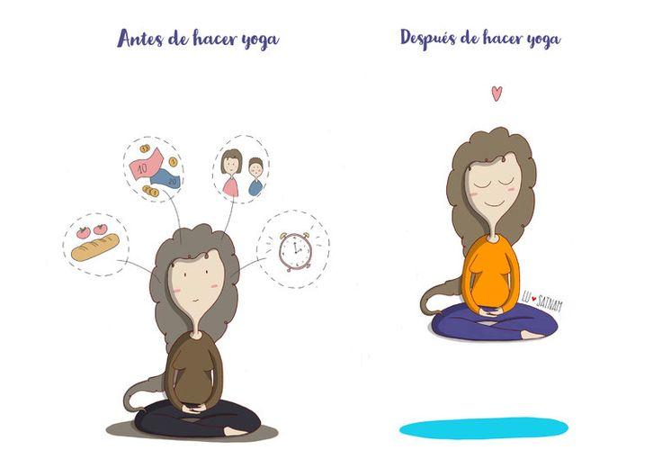 ANTES Y DESPUÉS - Lusatnam. Ilustración para el alma