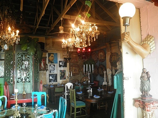 Cape to Cuba restaurant....LOVE the decor! One of my favorites ;)