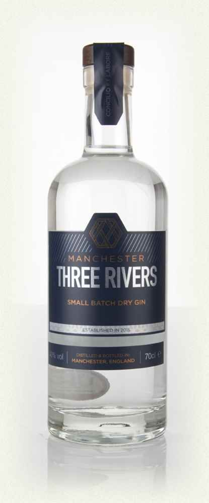 Manchester Three Rivers Gin-fever tree Ned tonic, red flesh grapefruit and rosemary. Splendid