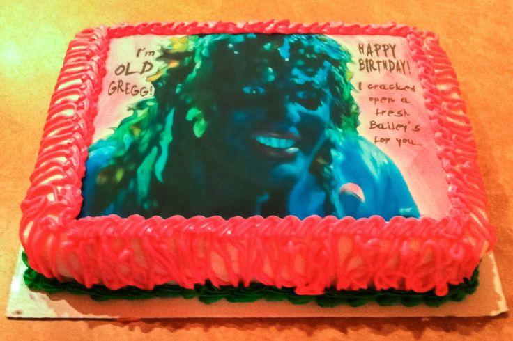 Craftosaurus: Old Gregg Birthday Cake Tutorial