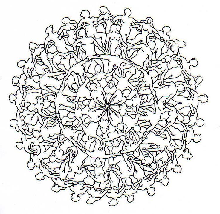Mandala para pintar Keep calm