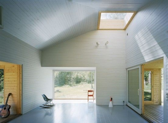 Swedish summer cabin. I want to build one of these on a Gulf Island. #architecture #cabin