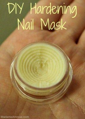 DIY Strengthening Nail Mask
