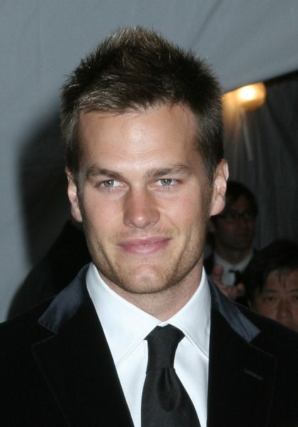 THE TOM BRADY HAIRSTYLE  AngloMania Costume Institute Gala at The Metropolitan Museum of Art - Arrivals