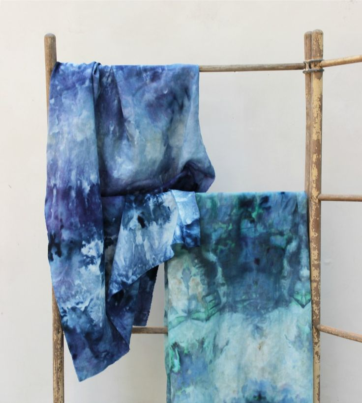 Love to tie-dye? Allow us to introduce you to its, ahem, cooler cousin with this ice dyeing DIY, now on the #AnthroBlog
