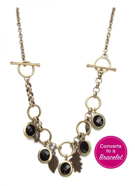 Necklettes - converts from Bracelet to Necklace.  Two great looks.