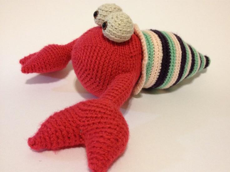 Amigurumi Hermit Crab : 17 Best images about Crochet Sea Friends on Pinterest ...