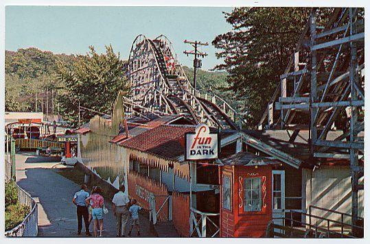 Bertrand Island Amusement Park, Lake Hopatcong, New Jersey