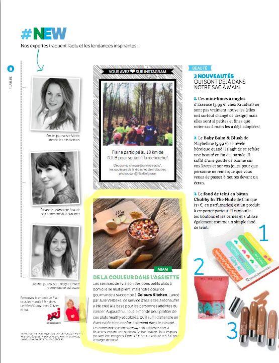 Le flair parle de Colours Kitchen dans le numéro 18!