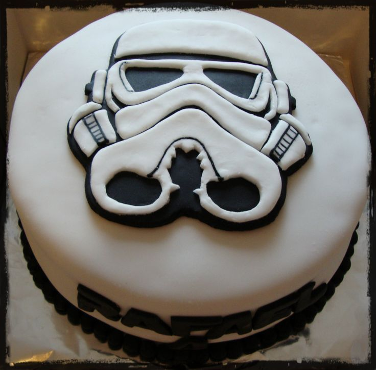 Stormtrooper Birthday Cake Tesco