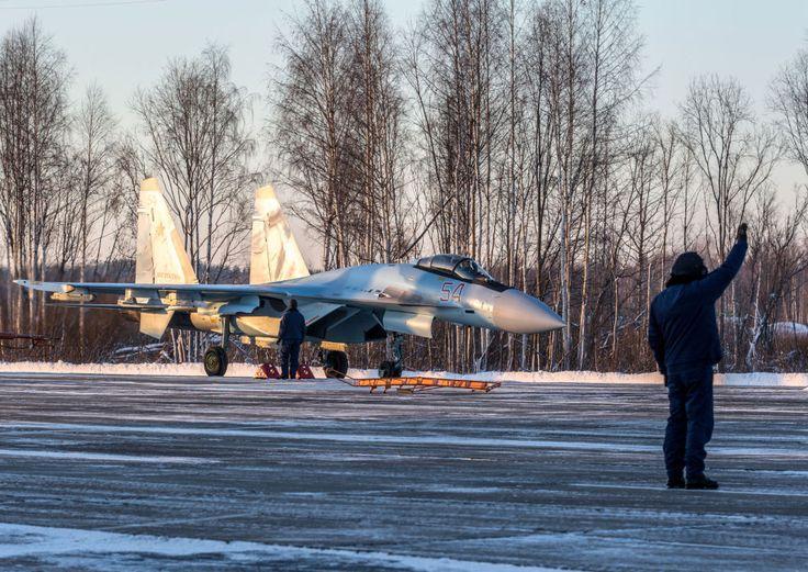 Sukhoi Su-35 en Carélie
