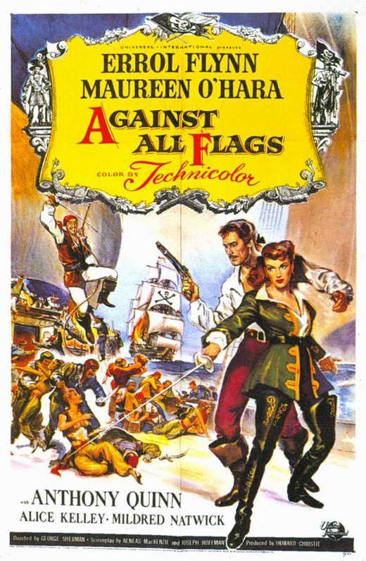 Against All Flags (1952) - Errol Flynn DVD
