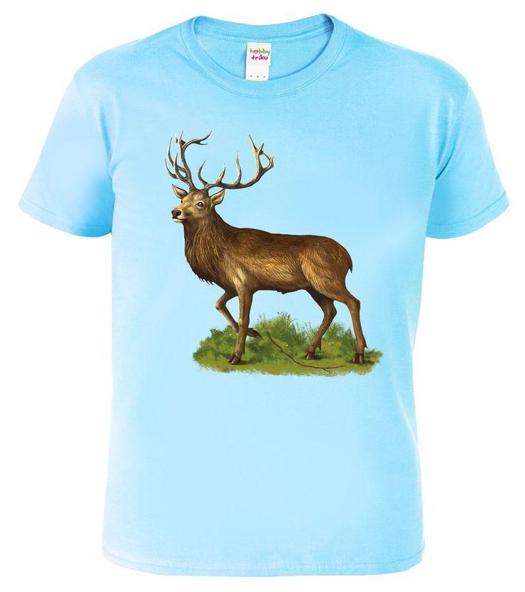 """Sen každého malého myslivce - dětské tričko s jelenem. Nabízíme do série s ostatními produkty v sekci """"související zboží"""