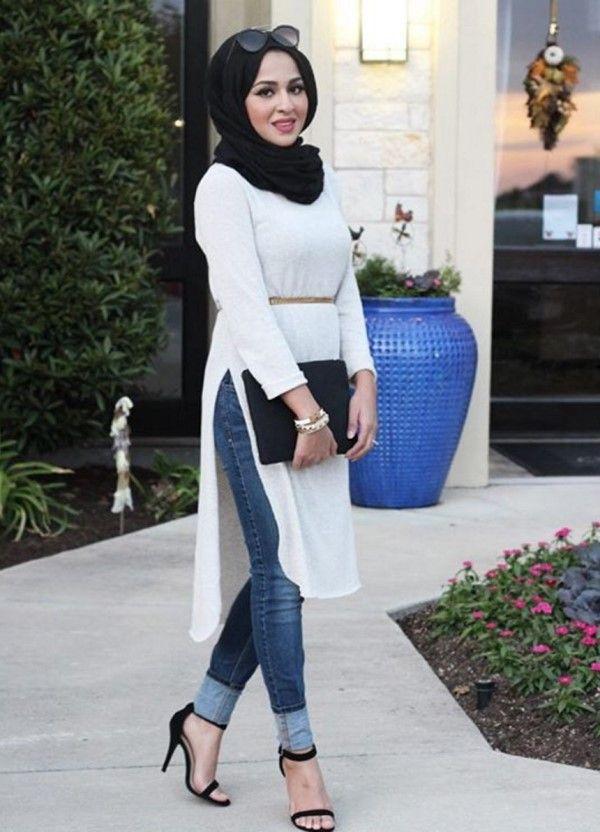 Summer Hijab Fashion Style Ideas