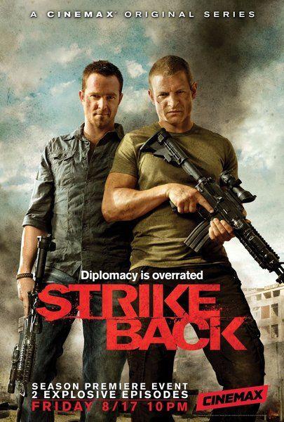 """Sullivan Stapleton & Philip Winchester of """"Strike Back"""""""