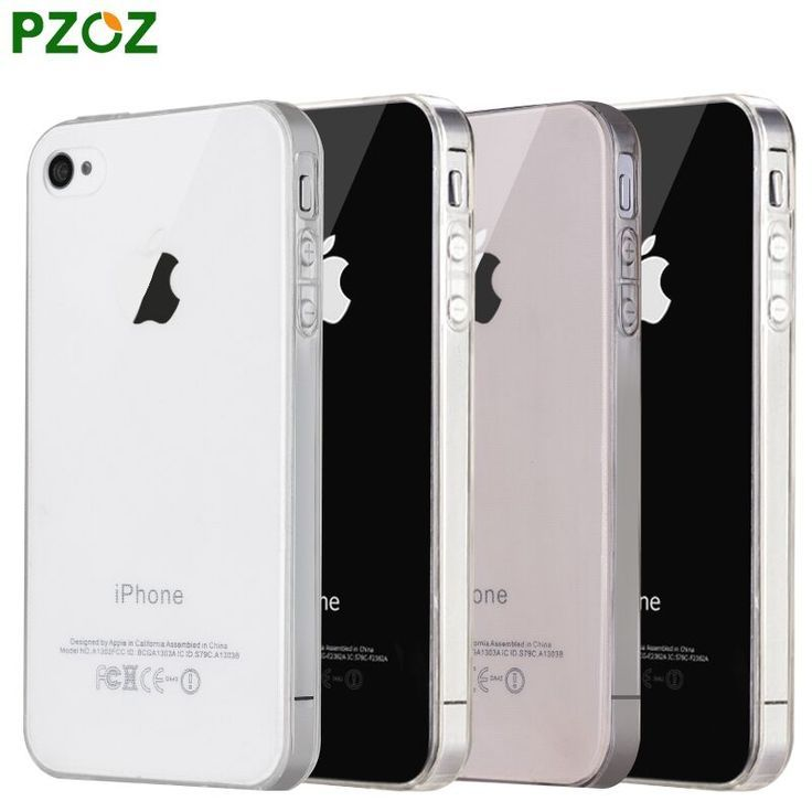 PZOZ For iphone4 Case Silicone Cover Original For iphone 4 S Slim Transparent Protection Phone Soft Shell For iphone 4s ipone 4-in Phone Bags & Cases from Phones & Telecommunications on Aliexpress.com | Alibaba Group