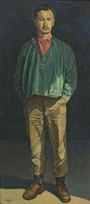 Zelfportret Jopie Huisman, 1959