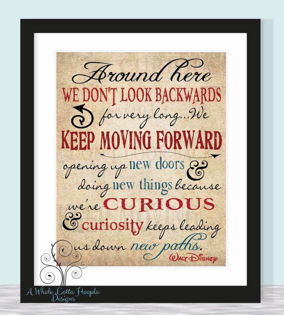 walt disney quotes keep moving forward - photo #17