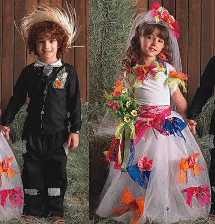 São João   Looks, noivas caipiras, trajes para quadrilha feminino e masculino para curtir as festas juninas, anarriê! Casamentos e fantasias usadas por celebridades