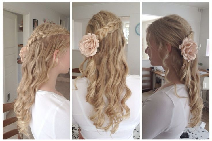 My confirmations hair