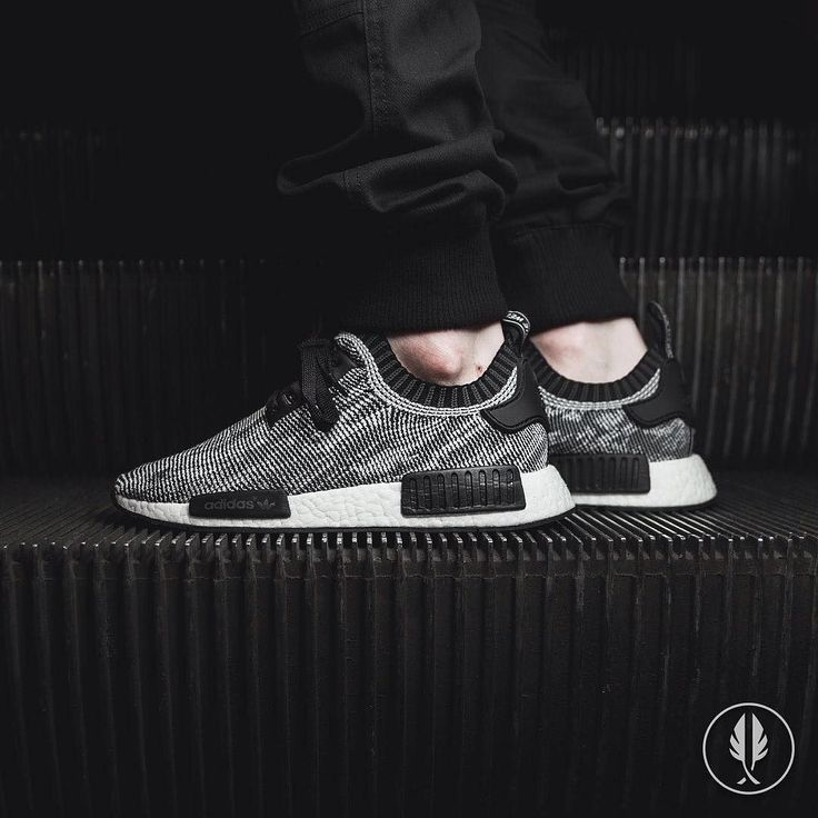 Adidas Nmd Primeknit Black And Grey