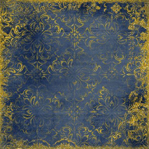 Темный, сине-желтый фон (background)