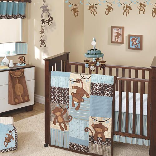 From Toys R Us Lambs Ivy Giggles 5 Piece Crib Bedding Set Babies