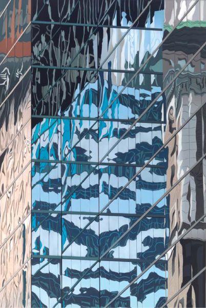 Brendan Neiland Excelsior 2006, Acrylic on canvas 184.7 x 123.9 cm