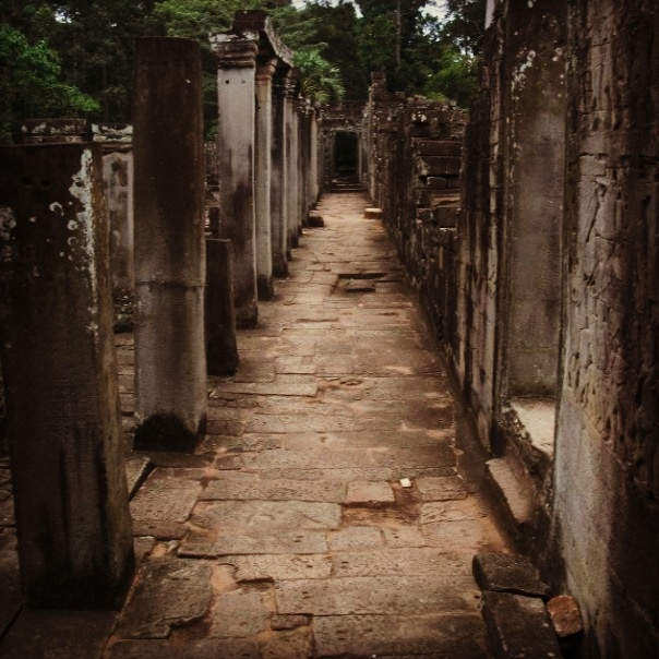 Just because ones lost doesn't mean they necessarily want to be found, Angkor wat temples