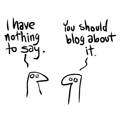 blogging is easy