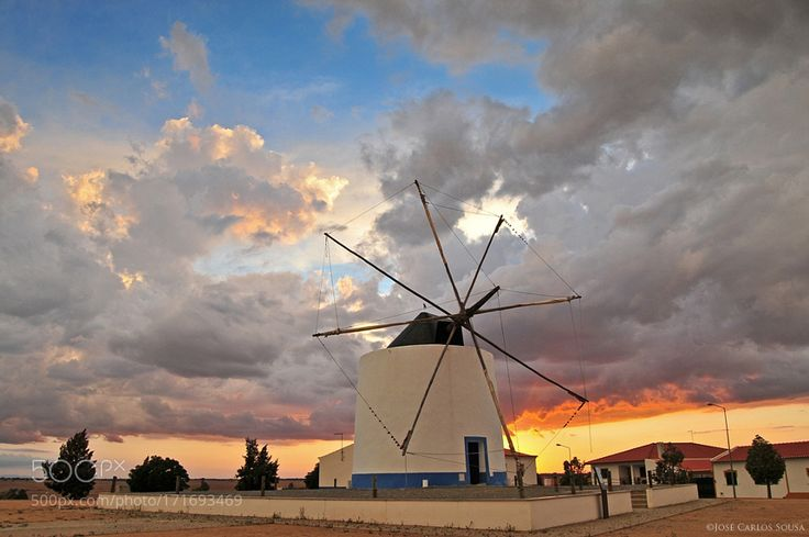 """Windmill in Castro Verde Go to http://iBoatCity.com and use code PINTEREST for free shipping on your first order! (Lower 48 USA Only). Sign up for our email newsletter to get your free guide: """"Boat Buyer's Guide for Beginners."""""""