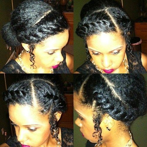 Terrific 17 Best Images About Braids Twists Locs Knots On Pinterest Hairstyles For Women Draintrainus