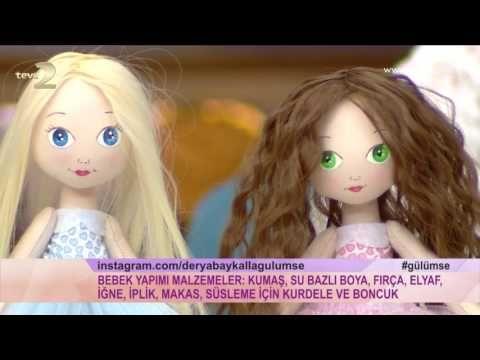Derya Baykal'la Gülümse: Çoraptan Bebek Yapımı - YouTube