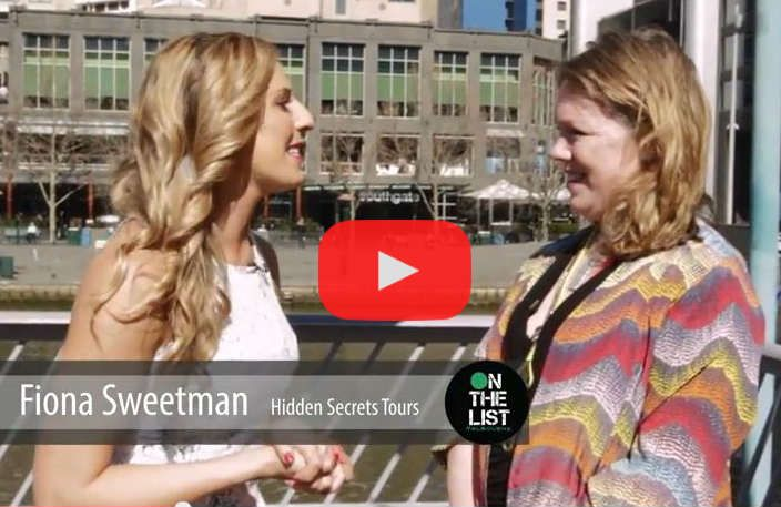 Fiona Sweetman from Hidden Secrets Tours tells Candy Hertz from On the List what's on during Melbourne Day — and shares her new secret foodie find!  www.candyhertz.com/aug-29-31-melbourne-day
