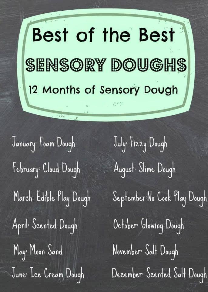 The Life of Jennifer Dawn: Foam Dough: Sensory Dough Series