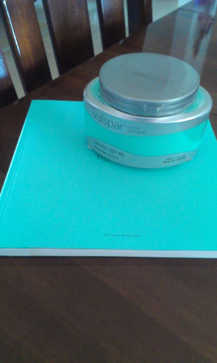 Want Tiffany blue paint?  Valspar Seafarer 5007-10A ...... This is the color I want my room!!