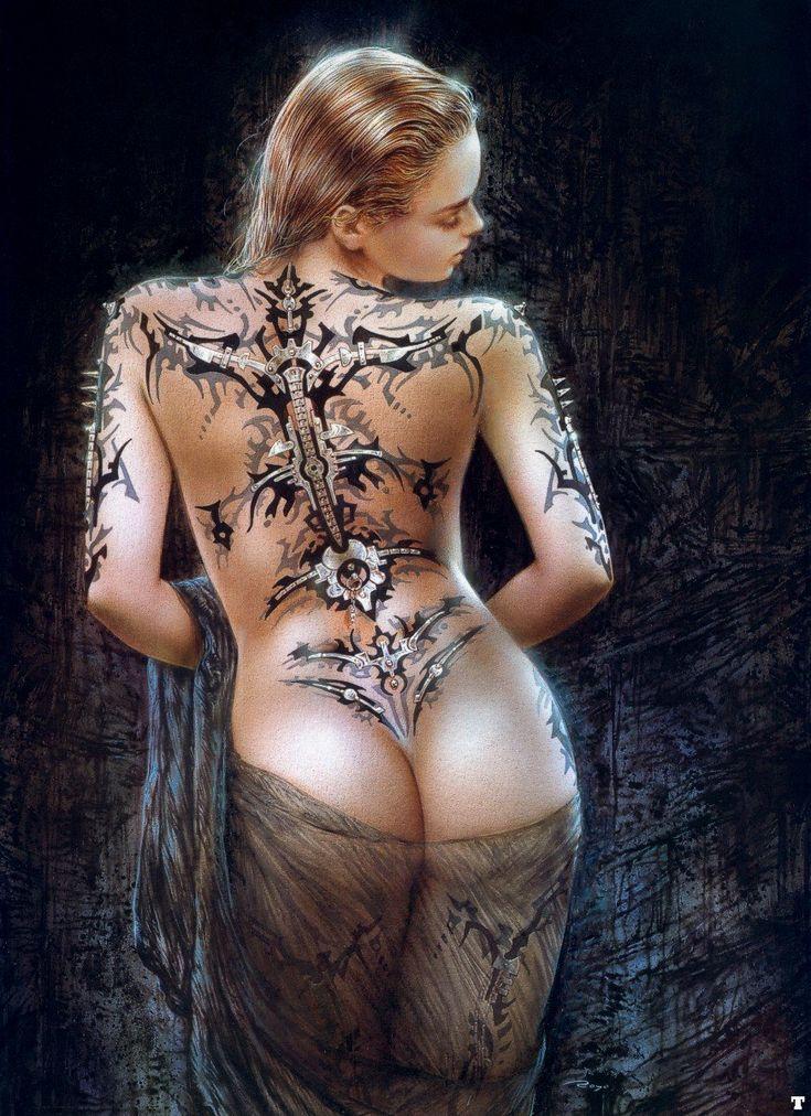 Luis Royo: Comics Art, Luis Royo, Fantasy Art, Wall Posters, Back Tattoo, A Tattoo, Butterflies Tattoo, Man Caves, Art Illustration