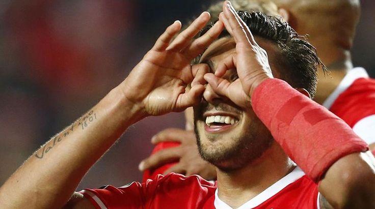 Salvio: «Já estou com saudades», SL Benfica
