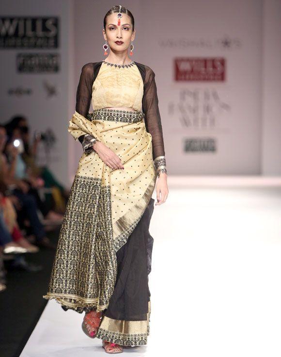Stunning Muga silk from Assam...