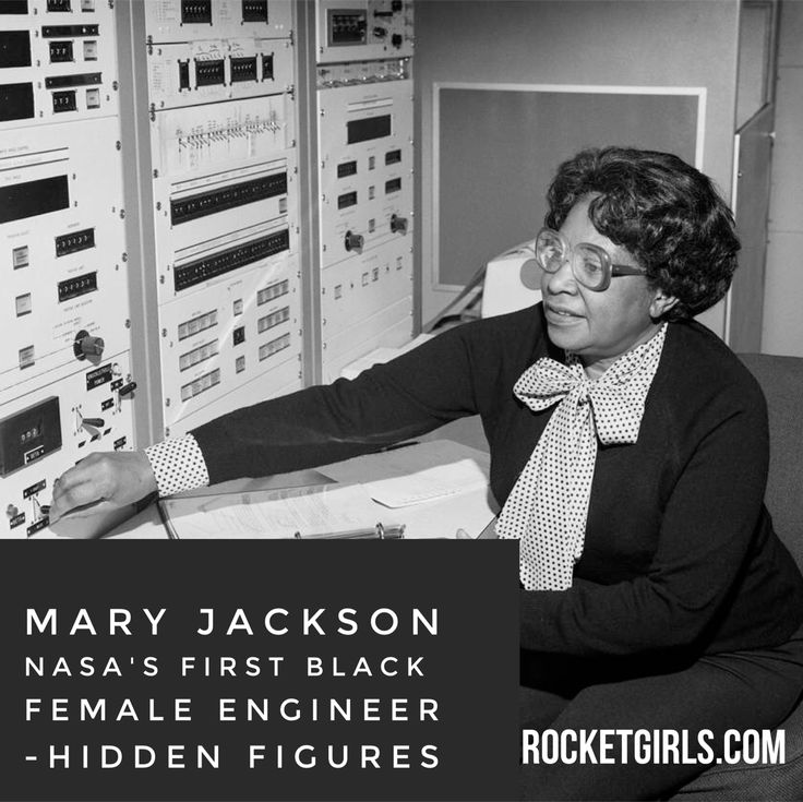 Mary Jackson, NASA's first black female engineer.  Hidden Figures.  Listen to the podcast here: