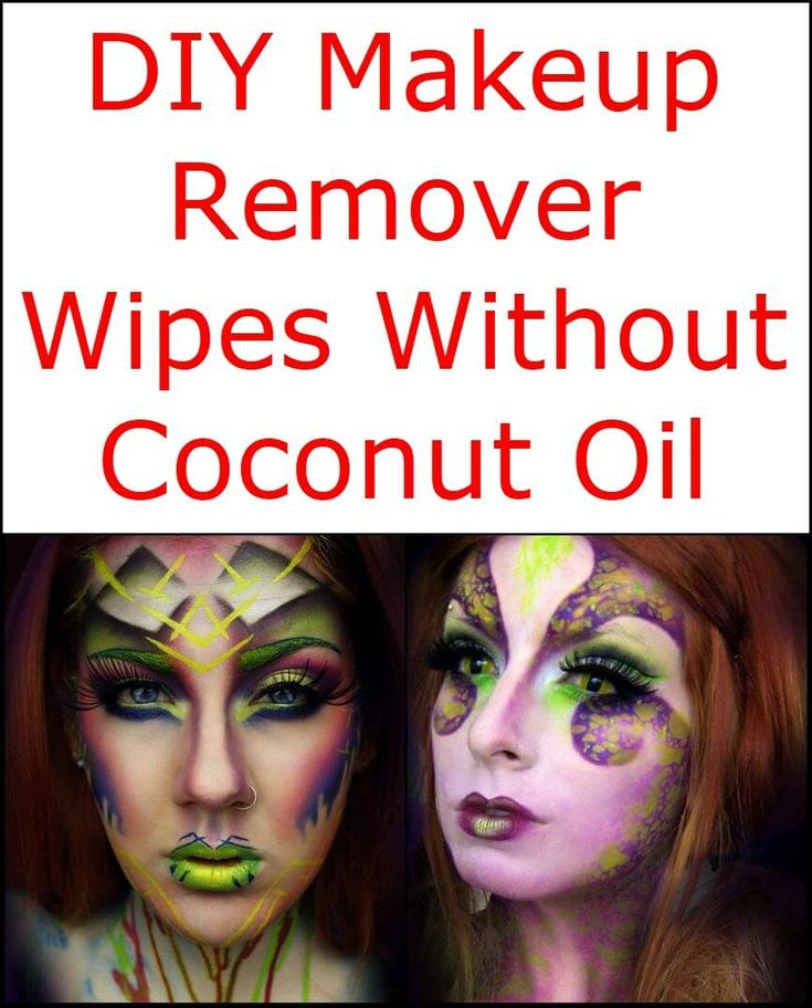 Diy Makeup Remover Wipes Without Coconut Oil Diy Makeup Remover Diy Makeup Remover Wipes Makeup Remover