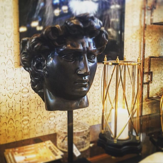 #vanroon at #maisonobjet magnificent head sculpture