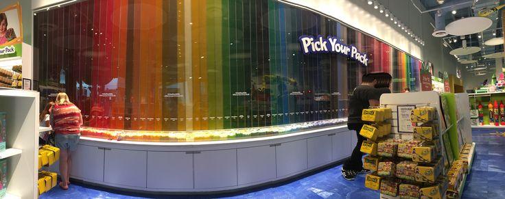 @ the crayola store