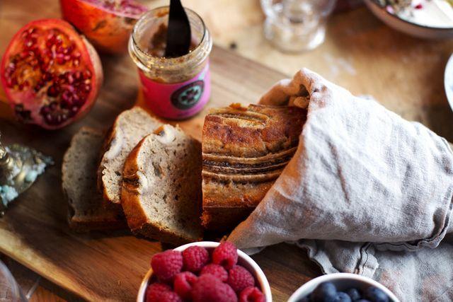 Recept – saffranschiapudding och bananbröd